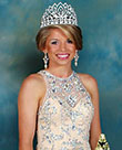PHOTO BY JOHNNY SMITH / Mattie Slade Avants was named Queen of the Lions Club Beauty Pageant during Saturday night's competition at the Lincoln Civic Center.