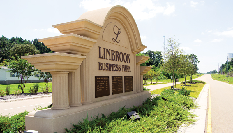 DAILY LEADER / RACHEL EIDE / With more than 1,000 acres, Linbrook Business Park stands ready and waiting for industry.