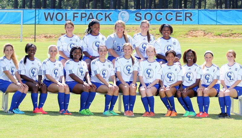 CO-LIN MEDIA / NATALIE DAVIS / The Co-Lin Lady Wolves team will begin their 2014 soccer season today as they host the Northwest Lady Rangers starting at 4 p.m. Members of the Lady Wolves team are Chelsey Pruitt, Si'Edriq Middleton, Calah Chanell, Kerry Hayes, Taylor Moak, Hannah Linnell, Ashley Boler, Christina Knott, Briana Brumfield, Temper Russell, Tori Jackson, Lavada Price, Destiny Allen, Amber Harris and Daneka Jernigan.