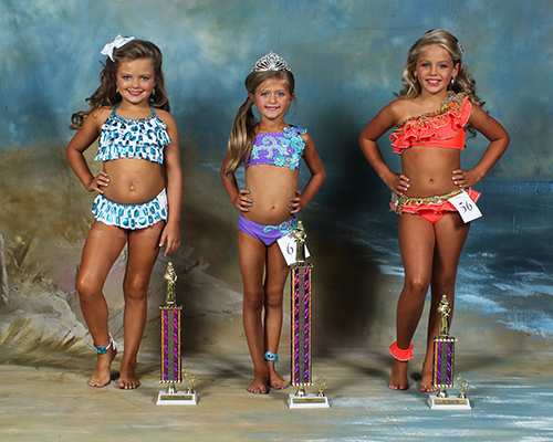 Seven to eight year old winners are Maggie Wilson, first place, daughter of Wendell and Maureen Wilson; Sayerd Harveston, second place, daughter of Summer and Daryl Harveston; and Karci Elizabeth Case, third place, daughter of Keith and Christie Case.