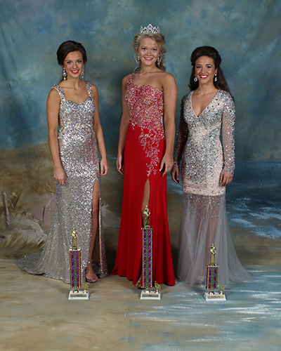 Thirteen to 15 year old winners were Vanessa Eloise Reed, first place, daughter of Bernie and Loretta Reed; Shelby Flumm, second place, daughter of Gary and Tammy Flumm; and Taylor Berch, third place, daughter of Leighia Grayson.