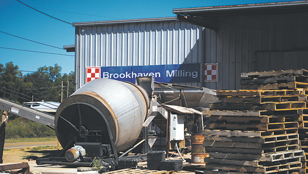 DAILY LEADER / JULIA V. PENDLEY / Brookhaven Milling has served the community for over 60 years. Its expansion will allow the company to continue serving for many years to come.