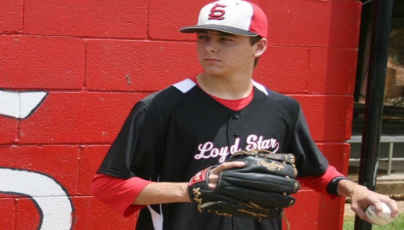 DAILY LEADER / MARTY ALBRIGHT / Loyd Star's senior pitcher Caleb Yarborough is The DAILY LEADER's All-Area Baseball MVP.