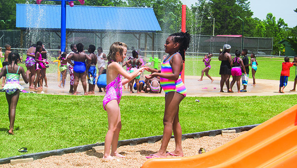The Brookhaven Recreation Department's summer program participants spent a day at the park ending with a celebration signifying the program's completion.