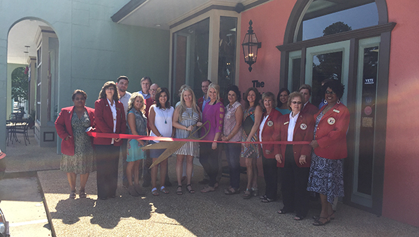 The Finishing Touch celebrated new ownership Thursday with a ribbon cutting sponsored by the Brookhaven-Lincoln County Chamber of Commerce. The business also has a slight name change: The Finishing Touch by J Allan's.