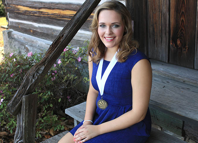 Jamie Sproles of Brookhaven will represent Lincoln County in the Distinguished Young Women state competition in Meridian.  Sproles is a student at Brookhaven High School and daughter of Joanna and Tommy Sproles. She plans on pursuing an English education degree at the University of Mississippi after graduating high school.