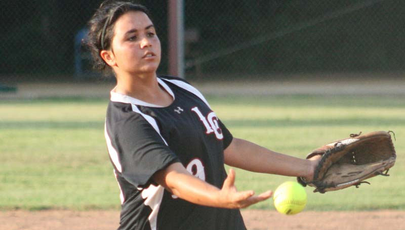 DAILY LEADER / MARTY ALBRIGHT / Senior pitcher Barri Rogers collects the win on the mound for Lawrence County.