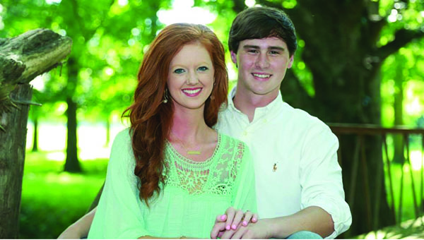 Maggie Redd and Curtis Brister