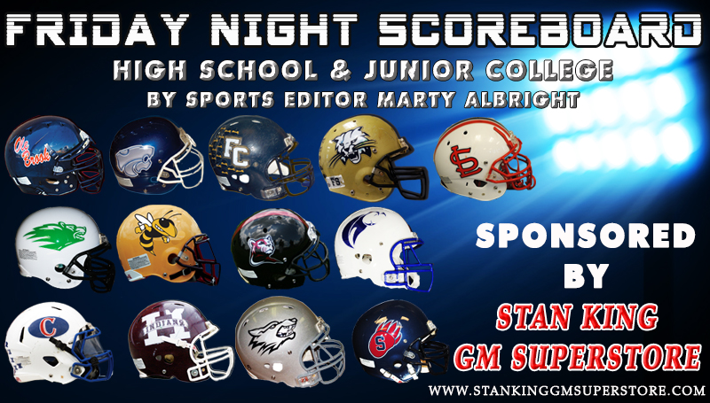 Check back tonight for football scores.