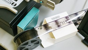 Photo by Kaitlin Mullins The Lincoln County Library has microfilms of 140 years of newspapers.