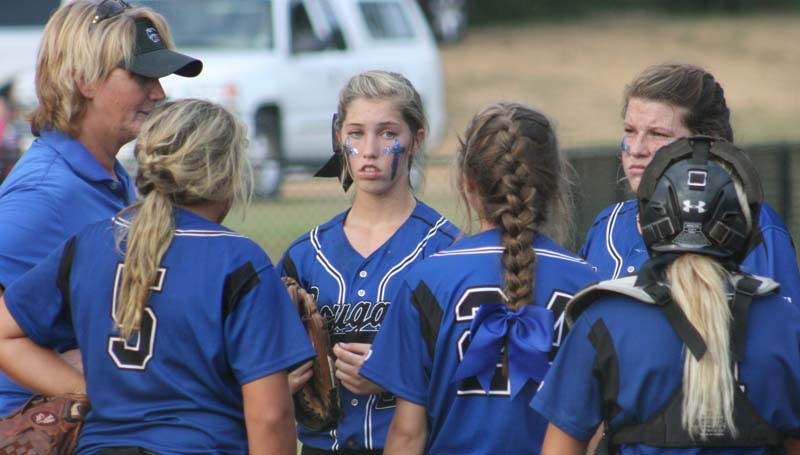 Daily Leader / Marty Albright / Coach Becky Flowers and her Brookhaven Academy Lady Cougars will be in action Saturday as they host a softball tournament at the Hansel King Sportsplex. Action begins at 9 a.m.