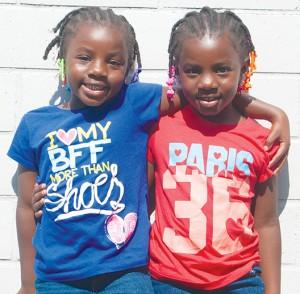Lael and Aniyah Coleman