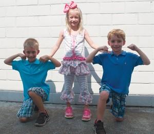 Isabella, Isaac and Ian Iles