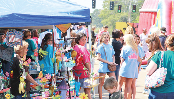 Photo submitted Scenes from previous Ole Brook Festivals. The annual event returns to Brookhaven Oct. 2 and 3.
