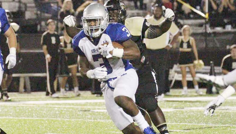 Co-Lin Media / Natalie Davis / Co-Lin running back Lakedric Lee (3) and the No. 1 ranked Wolves host the Pearl River Wildcats for homecoming Saturday at Stone Stadium. Kick off is at 2:30 p.m.