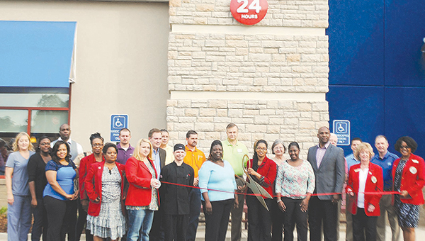 The Brookhaven-Lincoln County Chamber of Commerce and IHOP staff gathered to celebrate IHOP's ribbon cutting and a free breakfast Friday. IHOP is located in front of Home Depot on 106 Stribling Road. The restaurant will have its grand opening and be open for business at 8 a.m. on Tuesday.
