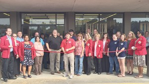 Hobie's Sports and Outdoors, at 844 Brookway Blvd., celebrated the opening of the store with a ribbon cutting on Thursday. Hobie's is a full-line sporting goods store, offering everything from athletic equipment and apparel to outerwear and hunting goods.