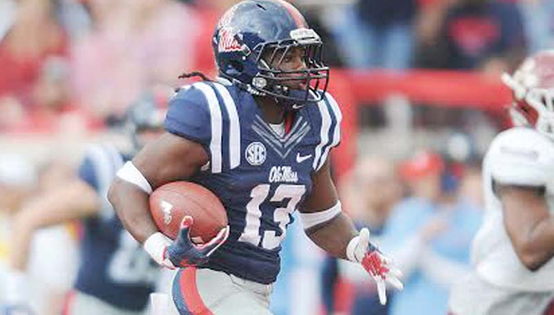 Ole Miss Media / Bruce Newman / Ole Miss' running back Eugene Brazley and the energized Rebels will travel to Auburn to battle the Tigers, Saturday.