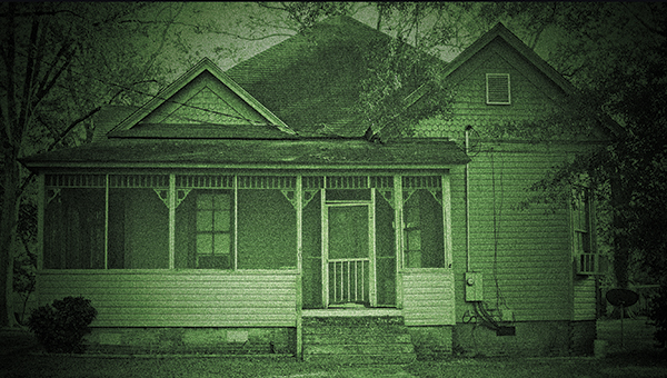Photo illustration by Kaitlin Mullins / The Williams's house at 401 West Congress St. has had its fair share of spooky happenings, from the odd to the just plain unexplainable.