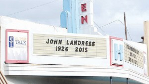 Photo by Aaron Paden Brookhaven Little Theatre pays homage to founder John Landress after his death Sunday.