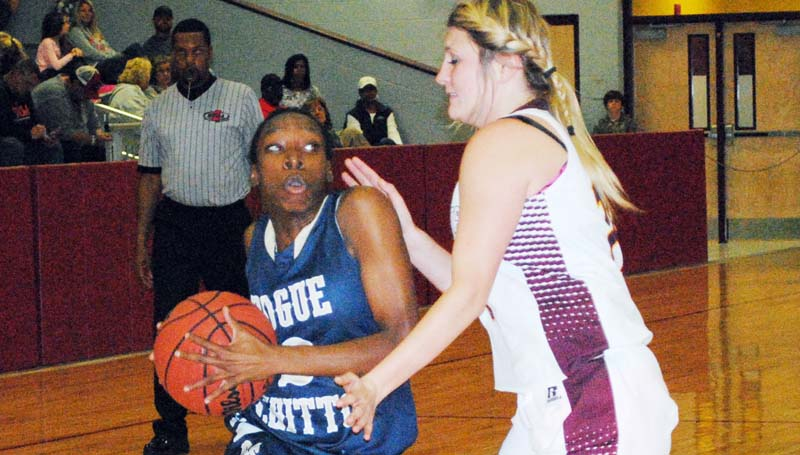 Daily Leader / Marty Albright / Bogue Chitto's Zariah Matthews (2) and her Lady Bobcats are looking to capture their fourth straight Lincoln County tournament crown as they begin action today against Enterprise, starting at 4 p.m., followed by the boys at 5:30 p.m.