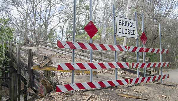 File photo / According to a recent report from the Mississippi Economic Council, 91 local and 15 state-maintained bridges in Lincoln County are deficient.