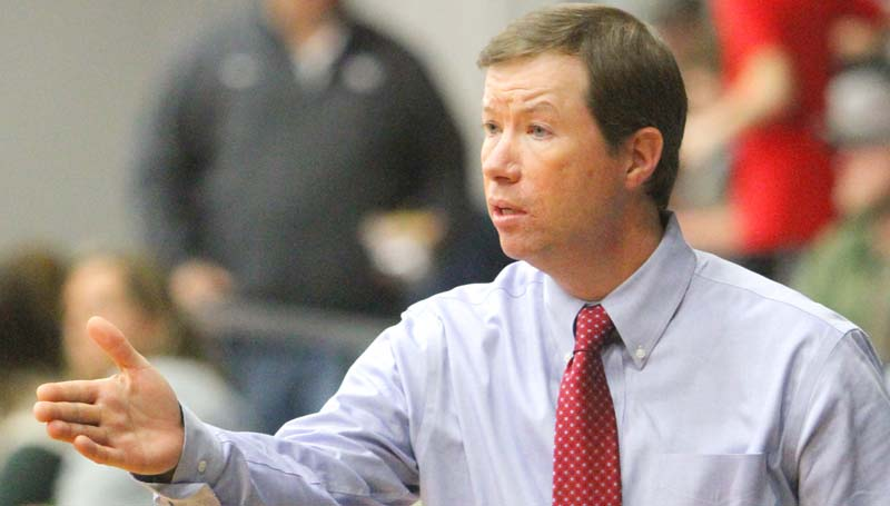 Daily Leader / Sherylyn Evans / Brookhaven Academy head coach Josh Watts will lead his Cougars against Columbia Saturday.