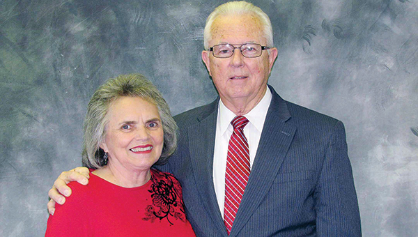 Photo submitted / Bendon Ginn and his wife Dot Ginn pose for a photo.