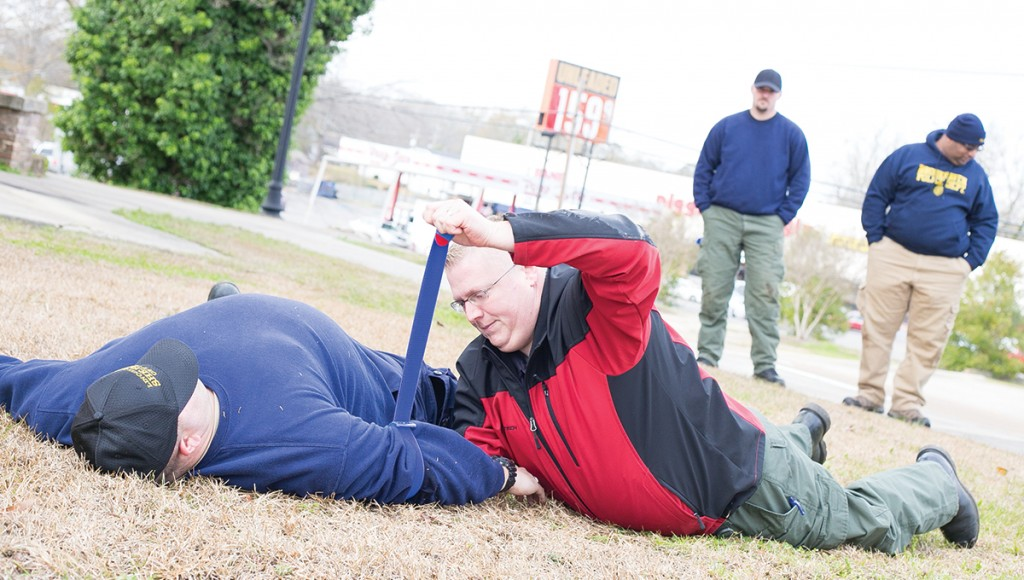 Law enforcement, volunteers and first responders from multiple agencies were on the Mississippi School of the Arts' campus this week for a Law Enforcement and First Response Tactical Casualty Care course.