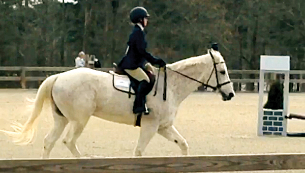 Photo submitted / Miriam Berry, a Brookhaven High School student, recently qualified for a regional equestrian competition with the Jackson Prep Equestrian Team.