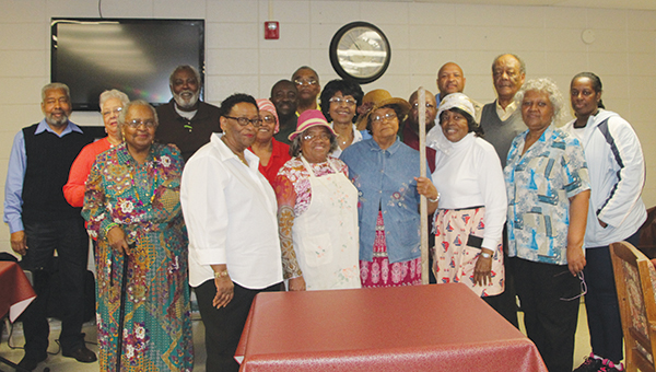 Photos by Alex Jacks / Mt. Wade Senior Men and Women's Mission Ministry members held a Black History Month Presentation at Haven Hall Nursing Home Monday.