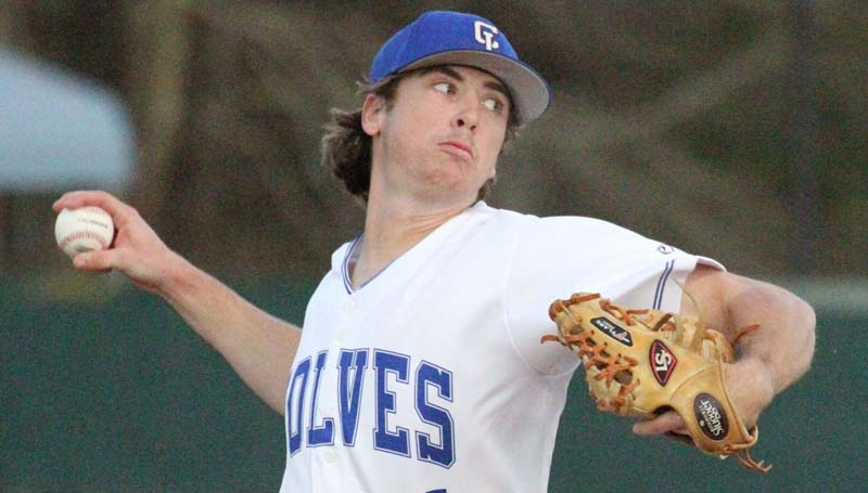 Co-Lin Media / Natalie Davis / Co-Lin starting pitcher Cole Langdon gets the win over Southwest in Game One of the Coca-Cola Classic/Powerade Challenge Wednesday.