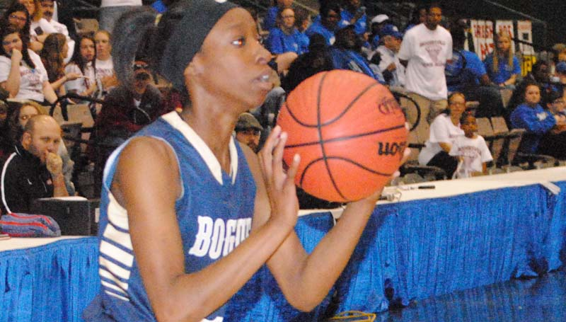 Daily Leader / Marty Albright / Bogue Chitto's Zariah Matthews and the rest of the Lady Cats will battle the Shaw Lady Hawks for the Class 1A State Championship.