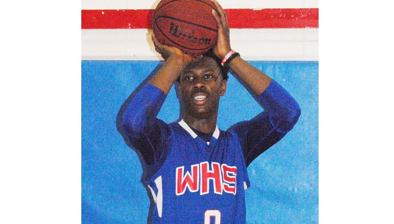 Daily Leader / Marty Albright / Wesson's Anthony Jones is the Daily Leader's All-Area Boys Basketball team MVP.