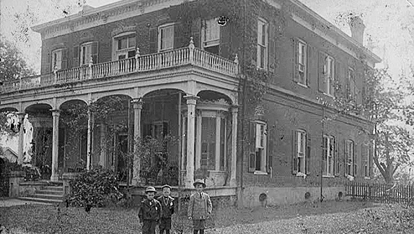 Photo submitted / The Hardy House was built in the mid-19th century by Capt. Jack Hardy and once stood on a 3,000-acre estate. Thomas Hardy Little was Hardy's great-great-grandson.
