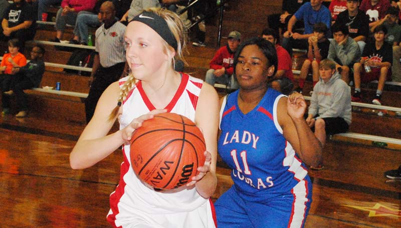 Daily Leader / File photo / Junior forward McKenzie Smith will be representing the Loyd Star Lady Hornets in the MAC/Mississippi Sports Medicine All-Star Classic in Clinton Friday.