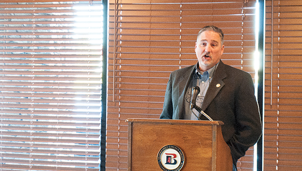 Photo by Aaron Paden / Chamber members were given the opportunity to hear from local representatives during the annual legislative breakfast.