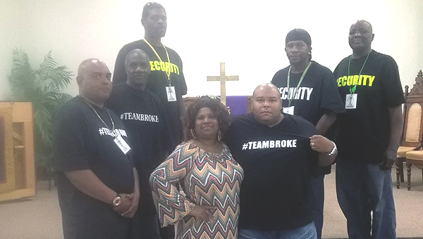 Photo submitted / Members of local hip hop group #TEAMBROKE practice at Kynett United Methodist Church to prepare for an Easter weekend performance.