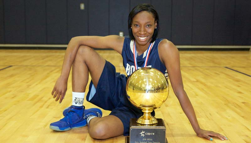 Daily Leader / Amy Rhoads / Bogue Chitto's Zariah Matthews is The Daily Leader's All-Area Girls Basketball team MVP.
