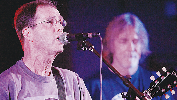 Photo submitted / Bryan Batson and Ed Tree performing at the Brookstock Festival in July 2013.