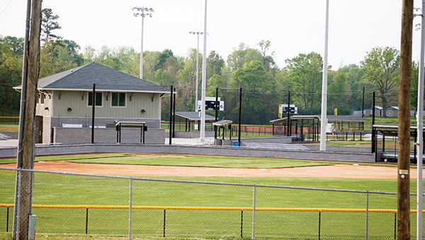 Photo by Aaron Paden / The new baseball facility will open this weekend for a league-wide jamboree.