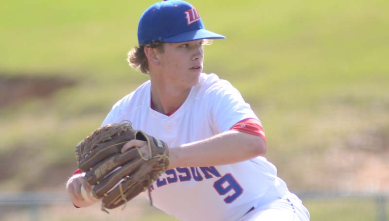 Daily Leader / Marty Albright / Peyton Burns collects the win on the mound for Wesson against Crystal Springs.