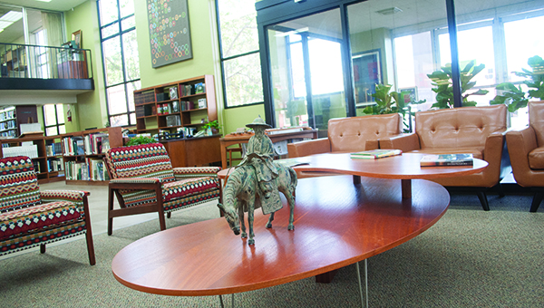 Photo by Julia Miller / The LIncoln County Library has seen a large remodelling project come to a close. From art addition (pictured above) to the new teen wing (below), the library's new look is just another way for it to continue to serve the community.