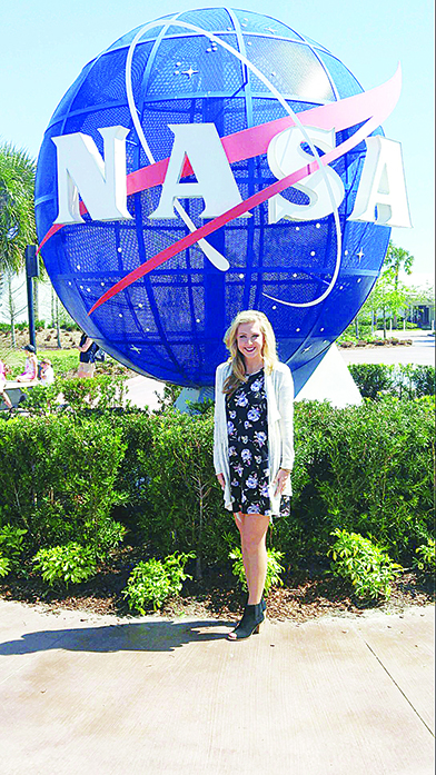 Missy Clanton traveled to Cape Canaveral last week to watch her experiment get launched into space on SpaceX CRS-8. She and a group of Brookhaven Academy students developed the experiment over the past year under the advisement of BA teachers Leslie Hood and Dianne Watson.