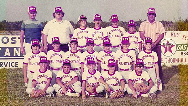 Photo submitted / The 1973 Brookhaven American All-Stars team played at Keystone Park.