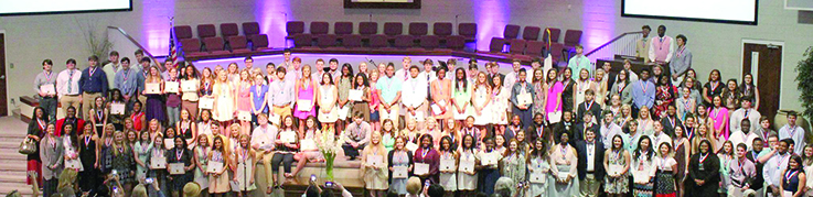 Photo submitted / Students from all area schools were recognized Sunday at the annual Mississippi Scholars and Tech Masters recognition banquet. Individual students were recognized in Sunday's lifestyles section.
