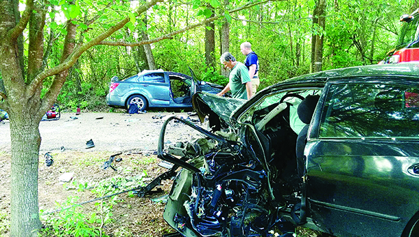 Daily Leader file photo / County engineer Ryan Holmes presented numbers on which roads had the most accidents over the past five years. The supervisors plan to use that information to evaluate which roads need repair the most.