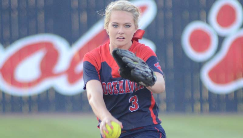 Daily Leader / Marty Albright / Brookhaven's Katherine Shellrecognized as the All-Area 2016 Fastpitch Softball Most Valuable Player.