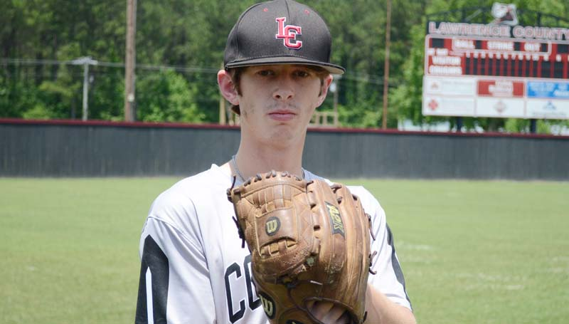 Daily Leader / File photo / Lawrence County's Josh Stephens will compete in the 43rd annual D.M. Howie High School All-Star Baseball Game Saturday.