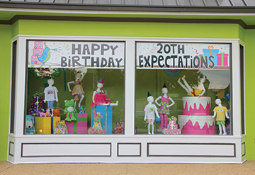 Photo by Alex Jacks/ The well-know children's boutique Expectations will celebrate 20 years in business with a birthday celebration today and Saturday.
